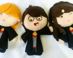 Kit Personagens Harry Potter De Feltro
