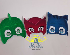 Kit 3 mascaras PJ MASK