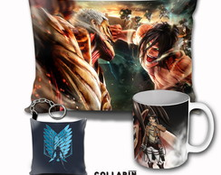 kit Personalizado Anime Attack On Titan