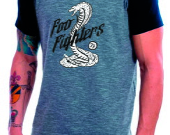 Camiseta Raglan Foo Fighters