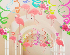 Móbile de Papel Flamingo