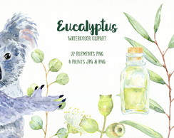 Eucalyptus Watercolor