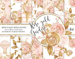Rose Gold Garden Kit Digital