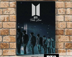 Placa Decorativa - BTS