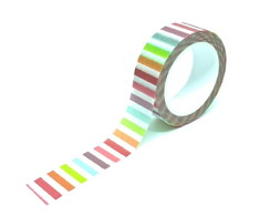 Washi Tape - Listras Coloridas