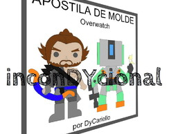Apostila digital de molde Overwatch