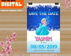 SAVE THE DATE FROZEN