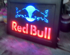 Luminoso RedBull Placa Quadro