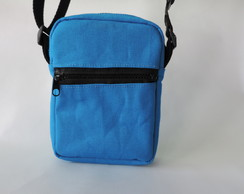 Mini Bag Lona Azul