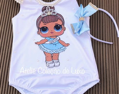 Collant da lol miss baby bordado de pérolas