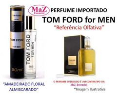 Perfume Contratipo 50 ml Inspirado no Tom Ford