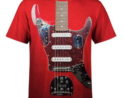 Camiseta Masculina Guitarra Fender md01