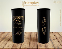 Copos Long Drink 40 ANOS