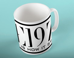 Caneca 325mL The 1975 Indie Rock #1