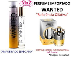 Perfume Contratipo 50 ml Inspirado no Wanted