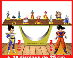 Display dragon ball, totem enfeite de aniversario