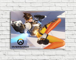 Placa Decorativa Overwatch