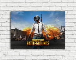 Placa Decorativa Pubg