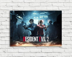 Placa Decorativa Resident Evil 2