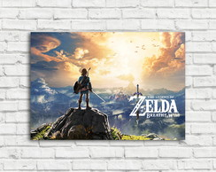 Placa Decorativa The Legend of Zelda