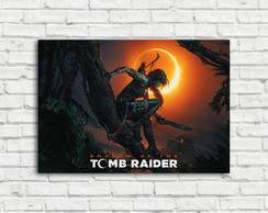 Placa Decorativa Shadow of The Tomb Raider
