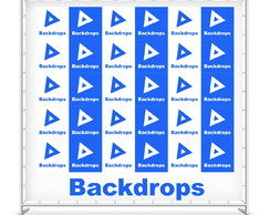 Backdrops por m2 - Lona 440g