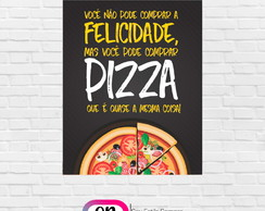 Placa Decorativa Pizza