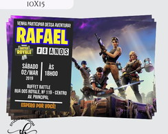 Convite Digital Virtual Fortnite 00