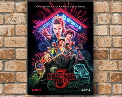 Placa decorativa - Stranger Things