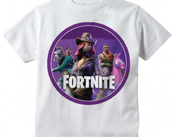 Camiseta Infantil Fortnite Modelo 2