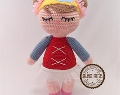 Bonecas de Crochê: amigurumi passo a passo, ideias | 194x244
