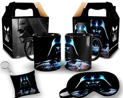 Kit Personalizado Para Presente Caneca Star Wars Darth Vader