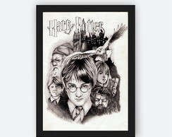 Quadro Decorativo Poster Harry Potter - Graf