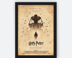 Quadro Decorativo Poster Harry Potter - As Relíquias
