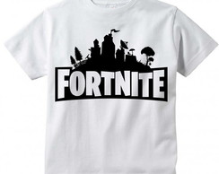 Camiseta Infantil Fortnite Logo
