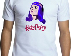 Camiseta Adulto Personalizada, Katy Perry