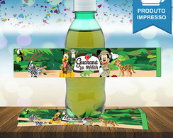 Rótulo Guaraná Mickey Safari