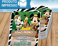Tag Agradecimento Mickey Safari