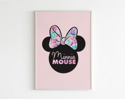 Poster Minnie Diamantes Imprimir Elo7