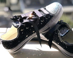 ALL STAR CUSTOMIZADO PRETO