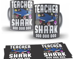 Caneca Teacher Shark