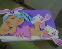 Caderno Brochura decorado