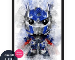 Optimus Prime Filme Transformers quadro infantil