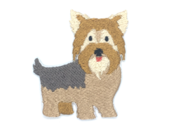 Patch Bordado Cachorro - Yorkshire - modelo1