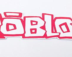 Imagens Do Simbolo Do Roblox Placa Roblox No Elo7 Mocinha Doce 100043d