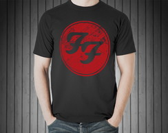 Camiseta Masculina Foo Fighters Rock 100% Algodão