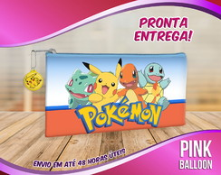 ESTOJO SLIM POKEMON (PRONTA ENTREGA)