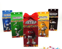 Mini Caixa Milk m&m's