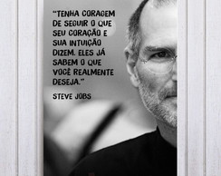 Quadro Decorativo Steve Jobs