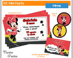 Kit Mini Festa - Minnie